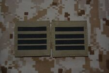 G010 grades militaires basse visibilité galons Armée Française insignes Airsoft