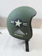 USAF Air Force CASCO JET VESPA SCOOTER retrò vintage casco moto taglia M (57/58)