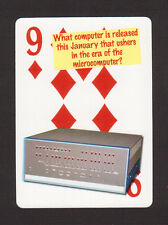 Altair 8800 Microcomputer Computer Neat Playing Card #5Y7