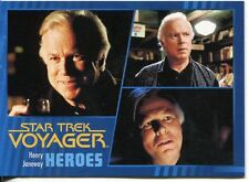 Star Trek Voyager Heroes And Villains Parallel Base Card #41 Henry Janeway