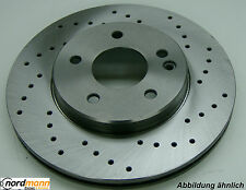 ZIMMERMANN Juego de discos de freno perforado Rover 280.3152.50
