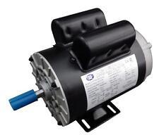 CEM Compressor Duty AC Motor 2HP 3600RPM 56 frame Removable Feet Single Phase CW