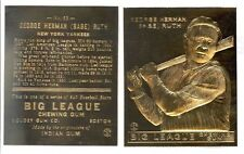 1933 BABE RUTH GOUDEY #53 *Big League Chewing Gum* 23K GOLD CARD **$7.95**