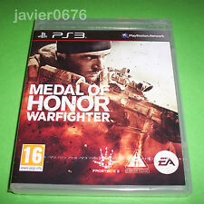 MEDAL OF HONOR WARFIGHTER NUEVO Y PRECINTADO PAL ESPAÑA PLAYSTATION 3