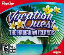 Computer Game Vacation Quest The Hawaiian Islands - Hidden Object Windows Puzzle