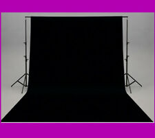 "FONDO NEGRO PARA ESTUDIO DE FOTOGRAFIA ""3x3 METROS"" FOTOS FOTOGRAFICO TELA"
