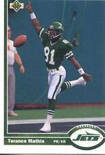Terance Mathis  Jets 1991  Upper Deck #188