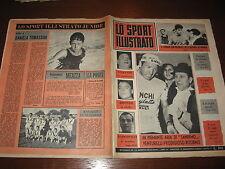 LO SPORT ILLUSTRATO GAZZETTA 1965/11 VENTURELLI GERMANIA ITALIA POSTER ATALANTA