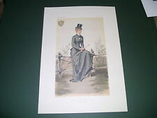 VANITY FAIR PRINT EMPRESS OF AUSTRIA SIDESADDLE FOX HUNTING