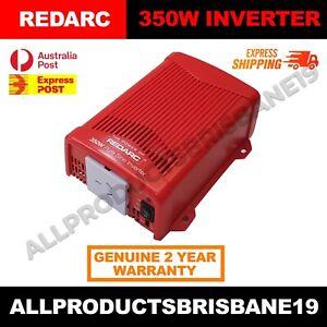 REDARC 350W 12V - R-12-350RS PURE SINE WAVE INVERTER Vehicle Power 240V Car