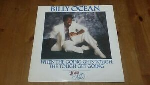 """Billy Ocean – When The Going Gets Tough Vinyl 12"""" Single 45rpm 1986 Jive T 114"""