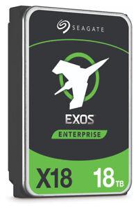 Seagate Exos X18 (7200UPM, 3.5-Zoll, SATA III, Standard Format) 18TB Intern