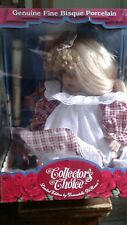 Collectors Choice Fine Bisque Porcelain Doll