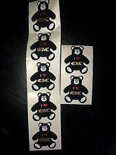 Vtg Lot Speedy Mark Century Marketing Pricing Gun Fuzzy Teddy Bear Stickers