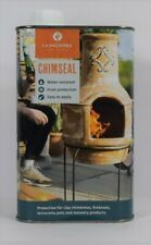 More details for la hacienda chimseal sealant for clay chimenea firebowl terracotta pots etc. new