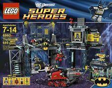 Retired New Sealed LEGO BATMAN 6860 The Batcave DC SUPER HEROES Robin Bane