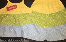 Gymboree A Pop of Daisies Polka Dots Dress size 4 4t outfit NEW shirt skirt nwot