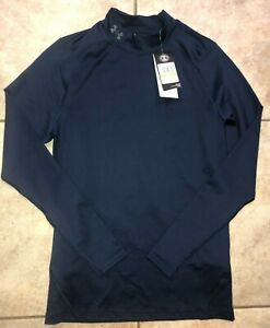 Mens Under Armour ColdGear Infrared Long Sleeve Golf Shirt 1356663 Sz S NWT $70