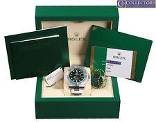 NEW 2018 Rolex Submariner Date Hulk 116610 LV Stainless Green Ceramic 40mm Watch
