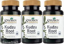 180 x KUDZU ROOT Capsules - 500mg - POTENT AntiOxidant LIVER RECOVERY, Hangover