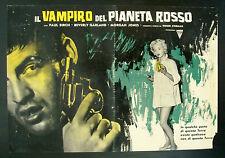 CINEMA-fotobusta IL VAMPIRO DEL PIANETA ROSSO garland