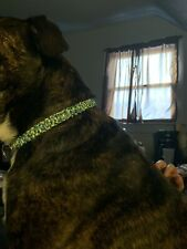 "Handmade Paracord Dog Collar Choke Style Training Collar 18"""