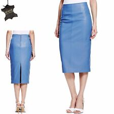 calf length leather skirts for ebay