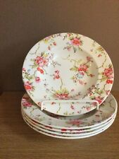 More details for cath kidston floral sprays by queens bowls/ pasta dishes x5