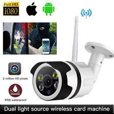 Wireless IP Camera 1080p HD Network Cam CCTV In/outdoor Security IR Night