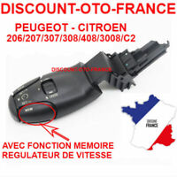 Regulateur de vitesse 206 207 208 3008 307 308 406 407 607 807 fonction memoire