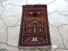 "29"" x 47"" Handmade Afghan Ersari Wool Prayer Rug"