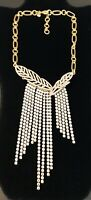 J.Crew PAVÉ FEATHER STATEMENT NECKLACE! Sold Out! New$138 With J.Crew Bag! ❤️