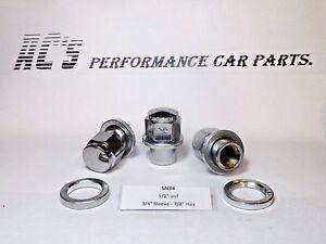 "1/2"" unf 3/4"" Sleeve - 7/8"" Hex Volvo,Chrysler,Jeep- Sleeve Wheel Nut- (SN34) GQ"