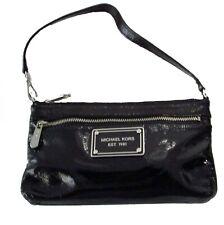 Michael Kors Patent Leather Mini Bag Wristlet Black