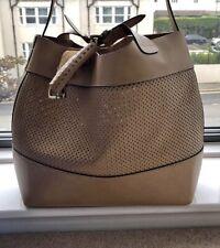 Zara Buffalo Leather Handbag Extra Large