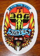 "DOGTOWN dog town Skate Sticker Bull Dog 2.25 X 1.25"" skateboards helmets decal"