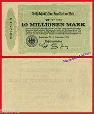 GERMANY REICHSBAHN Frankfurt 10000000 10 Million  mark 1923 Pick S1219  aUNC