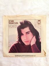 John Travolta, Let Her In, 45 RPM & Inch Record, Vinyl, 1976, Midland