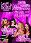 WSU Womens Wrestling - Volume 1 DVD Daffney Cookie Velvet Sky TNA IMpact