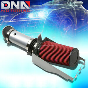 FOR 99-03 FORD F250 7.3 V8 SILVER POLISHED SILVER COLD AIR INTAKE+HEAT SHIELD