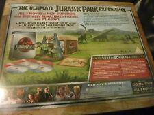 Jurassic Park Trilogy Box Set (Dinosaur statue) Bluray, RARE. Steven Spielberg.