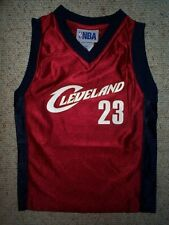 Cleveland Cavs Cavaliers LeBRON JAMES nba Jersey YOUTH KIDS BOYS CHILDRENS (5-6)