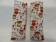Baby Seat Belt Strap Covers Capsule Highchair Stroller - Bear Hugs and Kisses