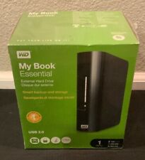 New Sealed Western Digital WD My Book Essential 1 TB USB 2.0 External Hard Drive