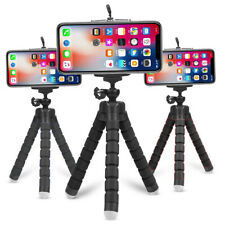 Flexible Tripod Phone Holder for iPhone For GoPro Hero 360 Degree Rotation Tripd