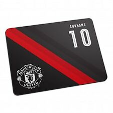 Manchester United F.C - Personalised Mouse Mat (STRIPE)
