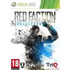 Pal version Microsoft Xbox 360 red Faction Armageddon