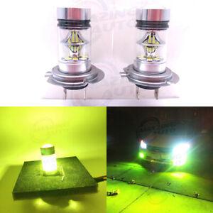 2 X H7 20W 4300K Super Yellow LED Headlight Fog Light Driving Bulbs