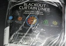 SmartBlock Blackout Curtain Liner (D20-1265)
