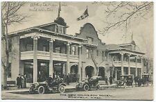 ROSWELL NM pre 1920 POSTCARD - The New Gilkeson Hotel